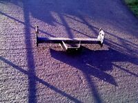 towbar for nissan terrano complete with bolts, good condition