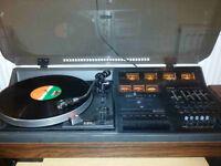 Hitachi SDT-400 Music Centre retro vinyl tape tuner turntable hifi sound system