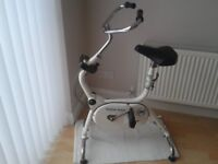 fully adjustable exercise bike
