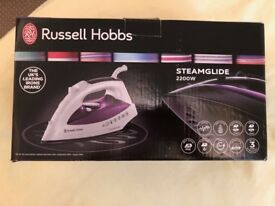 Russell Hobbs Purple Iron