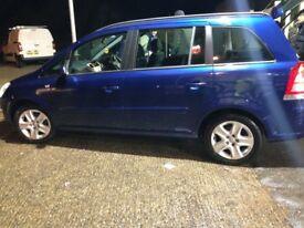 Vauxhall zafira 7 seater £1500 ono
