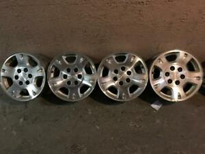 "SELLING A SET OF 6X139.7 CHEVROLET GMC RIMS ONLY 16"" PICKUP IN BURLINGTON"