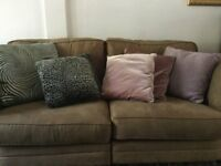 Selection of sofa cushions. All in good condition