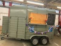 Catering trailer/classic rice horse box conversion/gin bar/takeaway beer garden/weddings