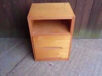 Bed Side table Drawer Delivery Available £5