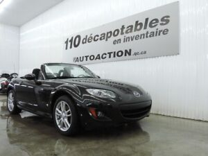 2011 Mazda MX-5 GX DÉCAPOTABLE - A/C - ANTI-ROUILLE