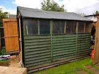 10'x8' Garden shed