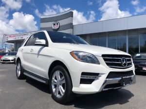 2013 Mercedes-Benz M-Class ML350 BlueTec DIESEL Fully Loaded MUS