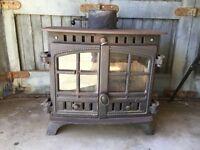 Hunter Herald 11 KW wood burning/multifuel stove