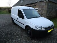 2009 vauxhall combo 1.3 diesel van £2500 ono NO VAT