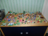 massive vintage 90s joblot kinder surprise over 100 toys