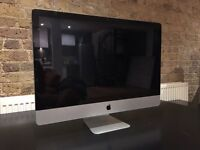 Apple iMac 27 inch mid 2011 3.1 Ghz Intel Core i5 8gb RAM *PARTS ONLY*