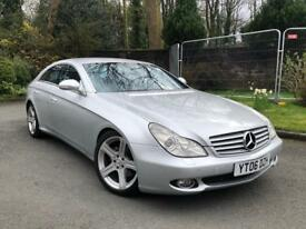 MERCEDES-BENZ CLS320 CDI SPORT AUTOMATIC 2007 GENUINE LOW MILES** TWO KEYS IMMACULATE MUST SEE