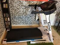 Almost new Everlast Bluetooth Everfit XV9 Treadmill £275. Original price £799.99.