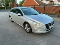 2012 12reg Peugeot 508sw active 2.0 Hdi Silver Pan Roof