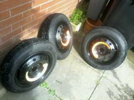 space saver / spare wheels for sale ( peugeot renault citroen fiat )