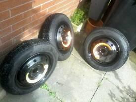 space saver / spare wheels for sale ( peugeot renault citroen fiat )