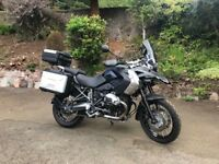Immaculate BMW GS 1200 Triple Black 2012 TU
