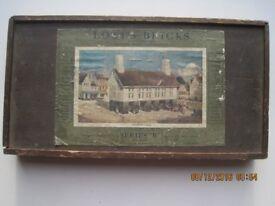 """LOTT'S BRICKS. """"Market Hall"""" Series """"B"""". Box three. 1911."""