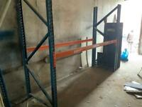 Ware house pallet racking