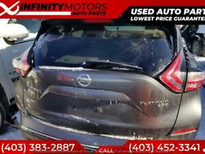 2016 NISSAN MURANO FOR PARTS PARTING OUT CARS CAR PARTS