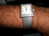 1960's RARE ROY KING SILVER WATCH AND STRAP (FULLY STAMPED 925 STERLING SILVER) £400