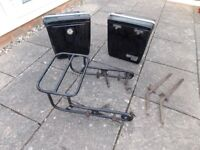 CRAVEN MOTORCYCLE RACK AND PANNIERS FOR SALE