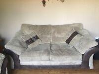 2 and 3 piece DFS sofas.
