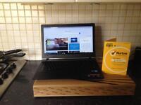 Lenovo 15.6 laptop with free Norton security