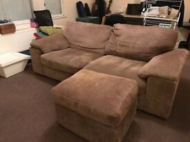 2x Large Sofas - West London