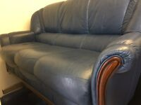 Leather quality secondhand leather suites choice of 16 styles and colours from £275