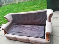 Sofa but can be used for guest bed, (no smoking no pet home)