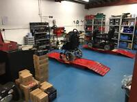 Mobility scooter and Powerchair servicing and repairs
