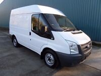 FORD TRANSIT 85 280 SWB H/ROOF 2011 71000 MILES FULL SERVICE HISTORY RACKING FITTED