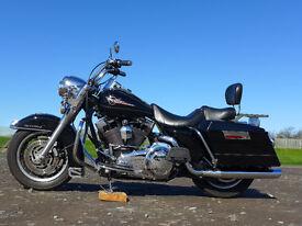 Harley Davidson Road King FLHR 2007 black and chrome