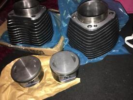 Pistons and barrels