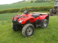 Honda 420 manual quad bike ATV,
