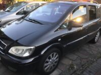 Vauxhall Zafira Metallic Black 2.0 diesel