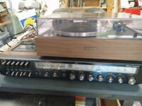 Quality vintage Hifi lot-Panasonic, Pioneer PL-12. 60 pounds! Bargain price!