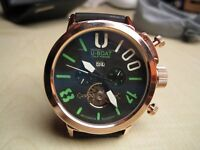 U-BOAT U BOAT 1001 Men's watch NEW**NOT Rolex Hublot Breitling Tag Heuer Omega Cartier Mont Blanc*