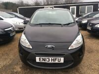 FORD KA EDGE HATCHBACK 3DR 2013*IDEAL FIRST CAR*CHEAP INSURANCE*ONLY £30 ROAD TAX A YEAR
