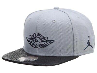 Nike Jordan 2 Snapback Hat / 724891-012 / Men's Grey