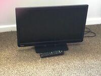 "Toshiba 24"" LCD TV/DVD combi"