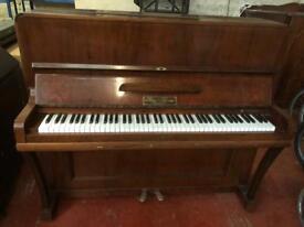 Antique Walnut Hugo Thieme Piano