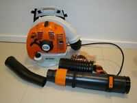 Stihl BR 450 backpack leaf blower 63.3cc