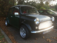 1990 Mini Racing Green 1293cc with service history (1293cc engine on 4000 miles)