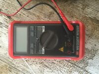 Multimeter of good quality, used but in good working order