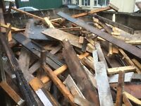Fire wood free to collecter good timber