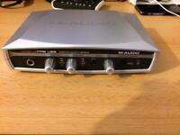 M audio Mobile Pre Usb Audio Interface