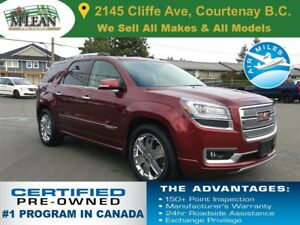2015 GMC Acadia Denali AWD Navigation Sunroof Remote Start